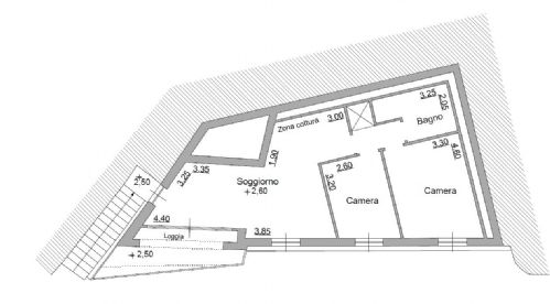 Appartment, 80 Mq, Vente - Moneglia